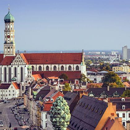 Augsburg Skyline