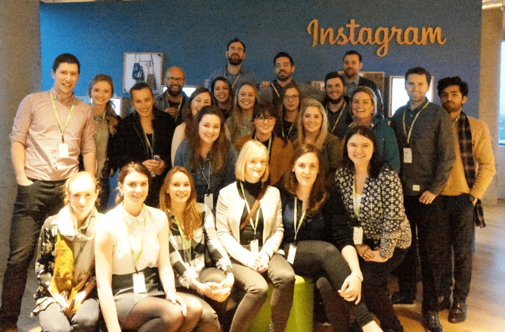 iProspect Ireland are First to Visit the New Facebook