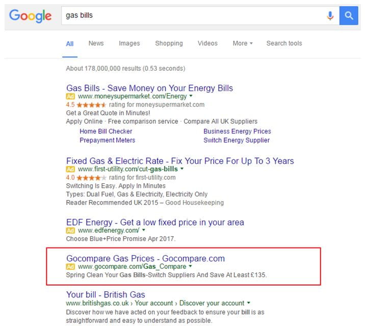 CTR Study: Google SERP Changes in 2016 | iProspect Blog