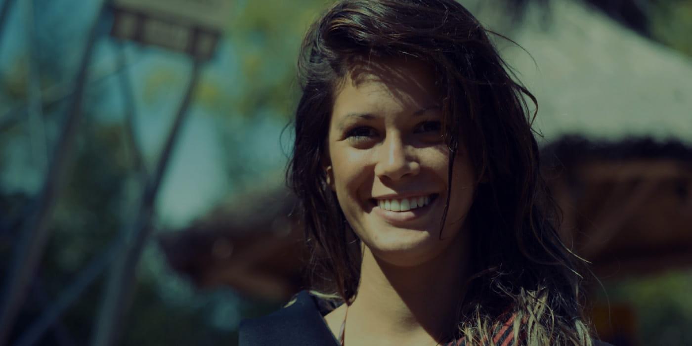 At være ny i branchen skræmte ikke Melanie Sfreddo fra at dykke ind i dybet med iProspect. - Melanie Sfreddo, Wakeboarder, Argentina