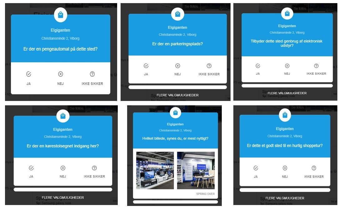 Google My Business - Hurtige Spørgsmål - Eksempler på spørgsmål