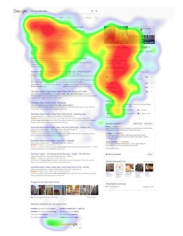 Google SERP - GMB-heatmap