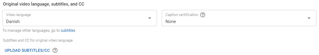 Undertekster til video - CC