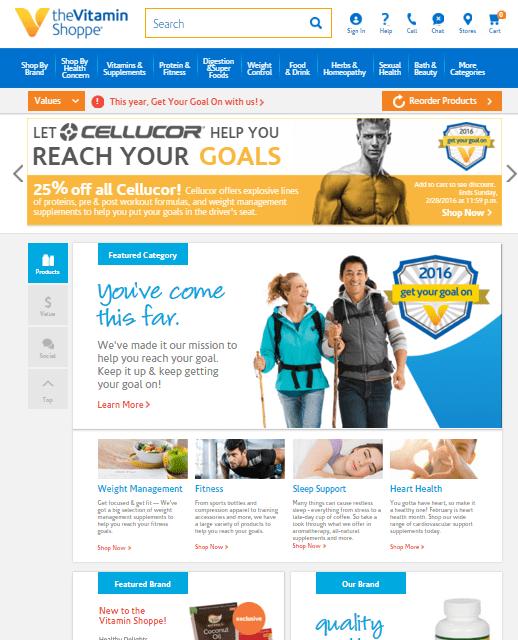 The Vitamin Shoppe käyttää dynaamista hinnoittelua verkkokaupassaan datan avulla.
