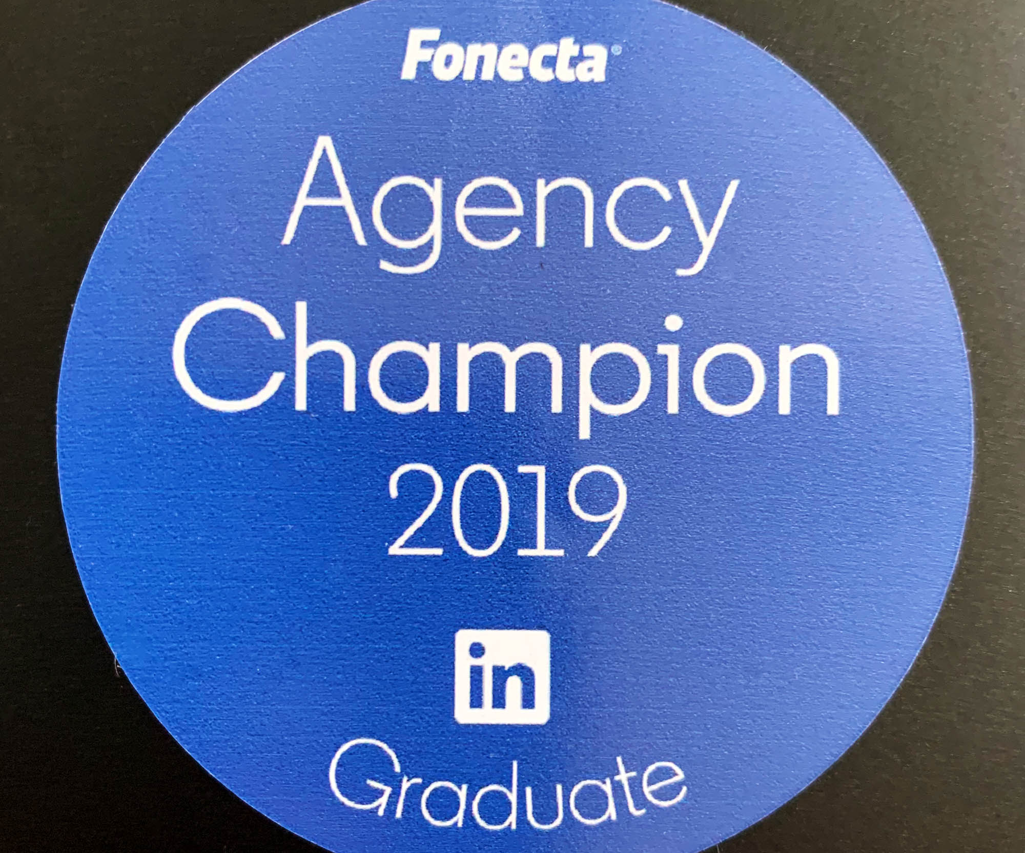Linkedin Agency Champion 2019