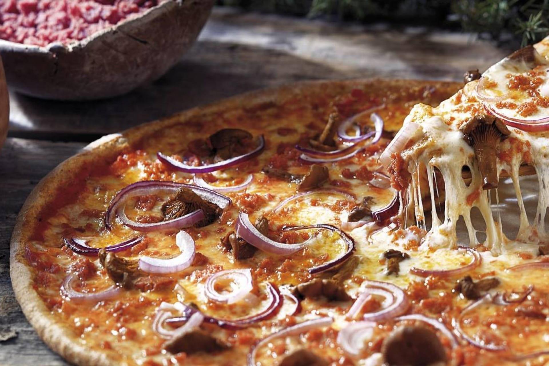 Esimerkkikuva kotipizzan pizzasta
