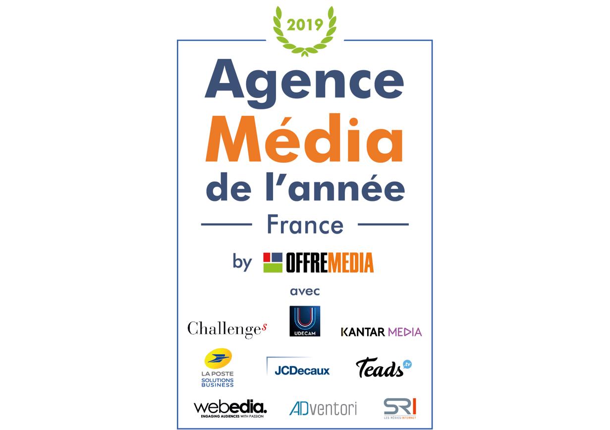 Agence Media de l'année 2019