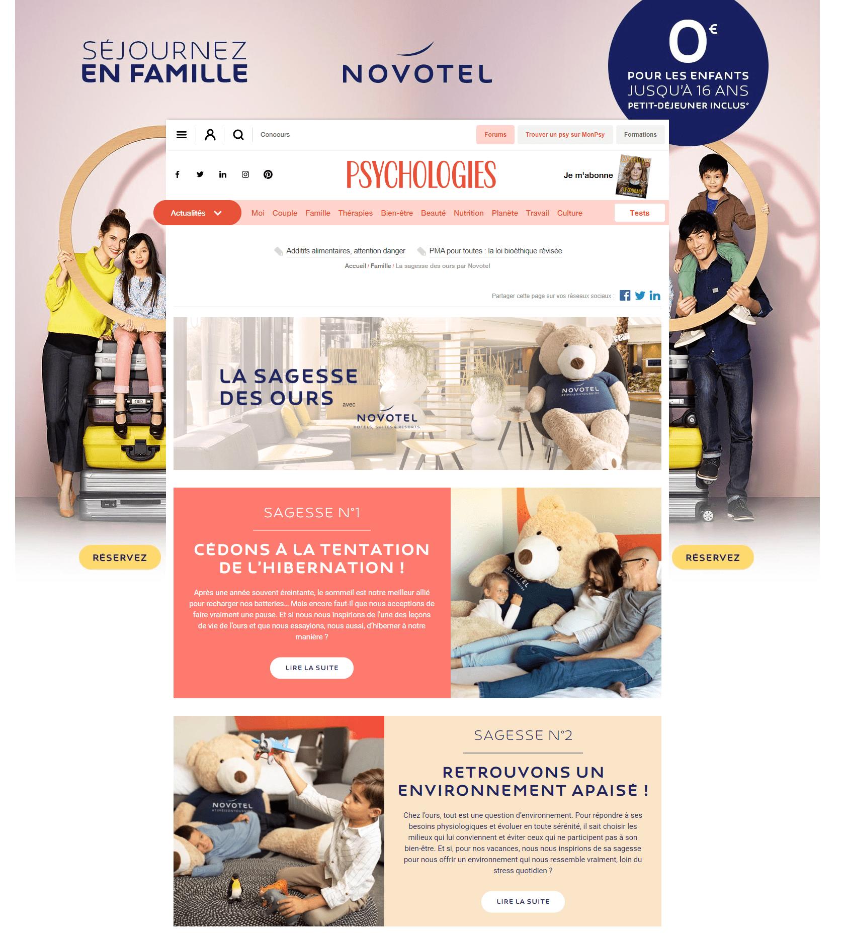 Vie Ours Novotel