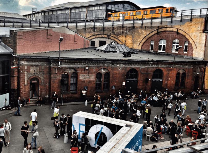 re:publica 2013 Innenhof Station Berlin - #rp13