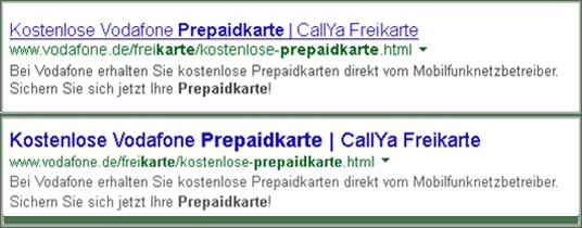 Suchergebnis Prepaidkarte CallYa
