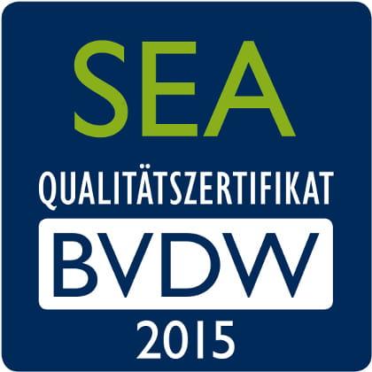 BVDW SEA-Zertifikat