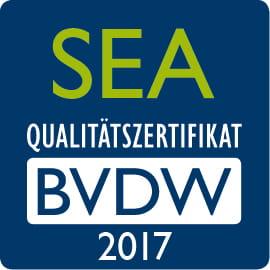 iProspect erhaelt das SEA Qualitaetszertifikat 2017 vom BVDW