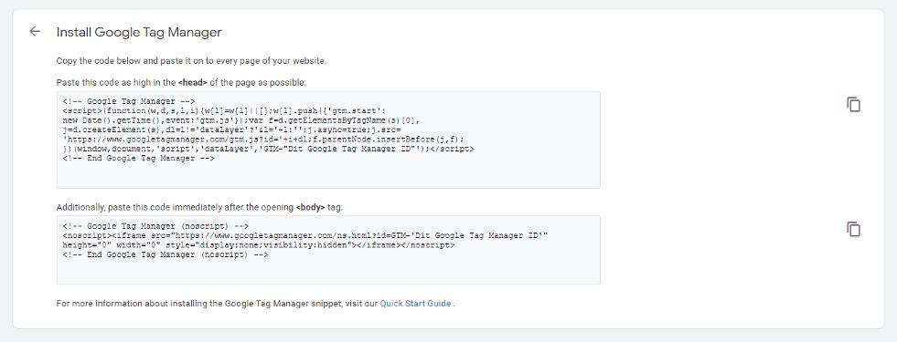 Make GTM Setup Smarter - Install Google Tag Manager Pop-Up