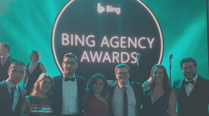 iProspect Win Big at Bing Agency Awards 2018