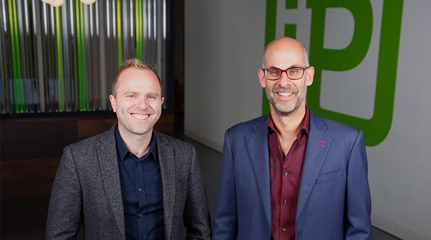Des Bateman and Dan Hagen