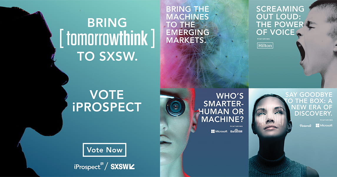 "Click. Search ""iProspect"". Vote."