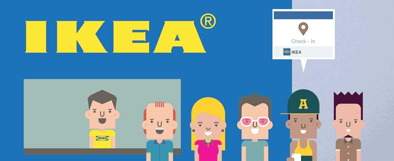 iProspect s'est associé à Facebook, EE et Vizeum (notre agence soeur chez Dentsu Aegis Network) afin d'expérimenter une technologie très novatrice. Celle-ci combine le ciblage hyperlocal de Facebook avec la technologie de suivi d'EE et avait pour but de tester l'hypothèse audacieuse selon laquelle la publicité sociale, comme variable isolée, pouvait entraîner plus de visites dans les magasins IKEA.