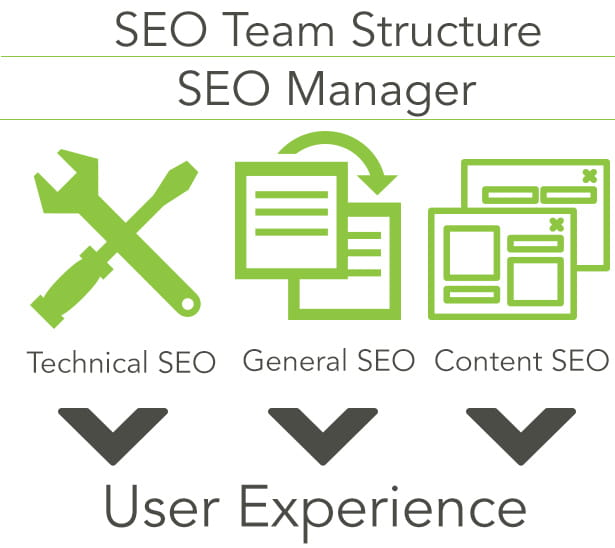 seo team structure