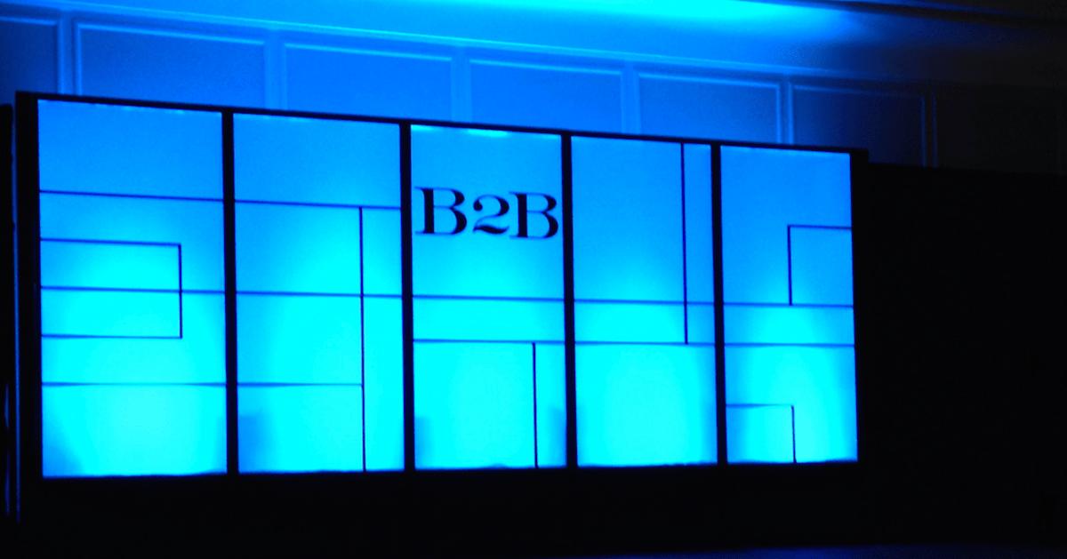 b2b markedsføring sosiale medier