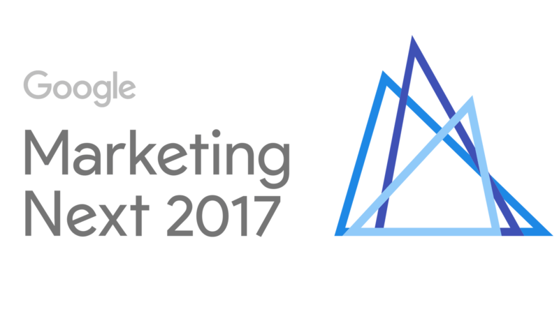 Google Marketing Next: Google bryter ned barrierer