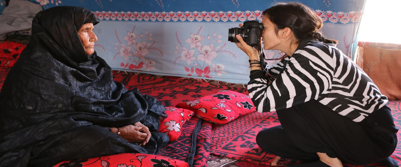 La experiencia de la mujer en la guerra a través de la cámara de Ana Valiño