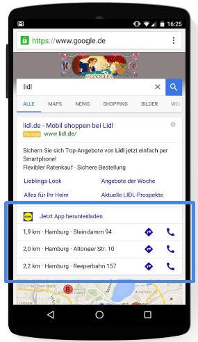 Beta Google Store Visits