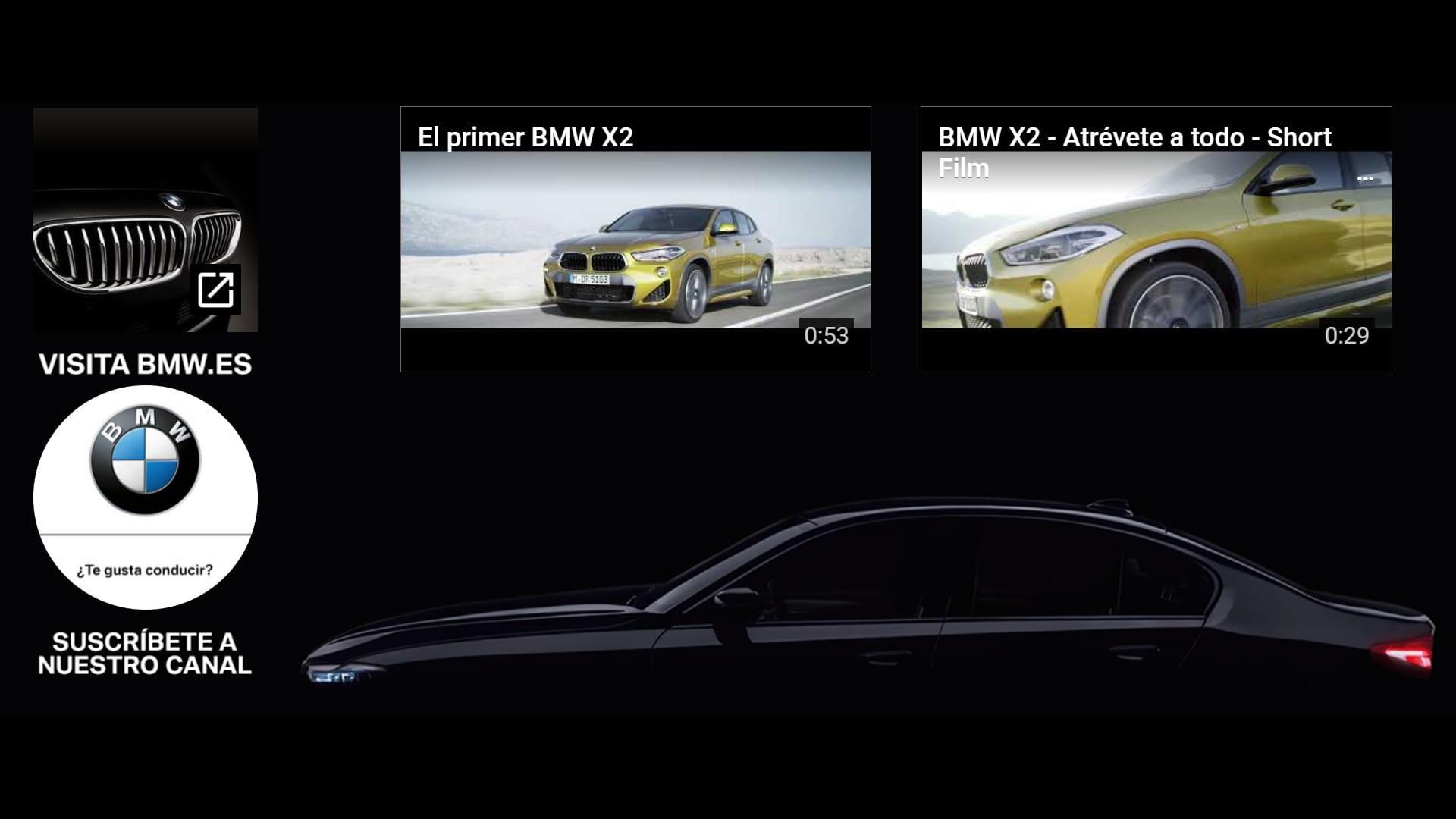BMW Pantalla final