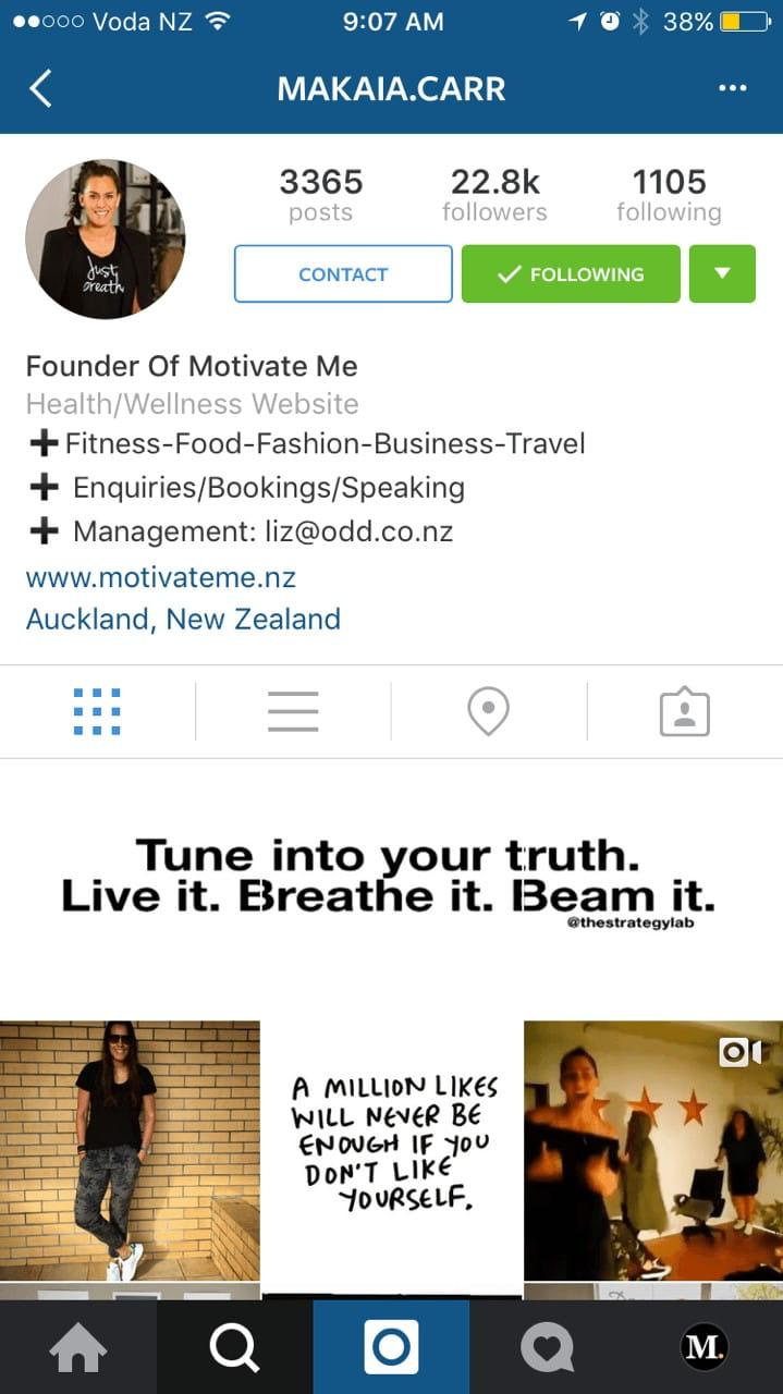 instagram perfiles