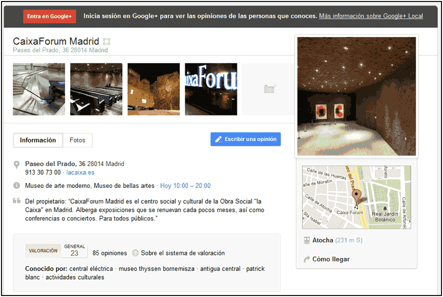 google places deja paso a google plus local editar perfil google plus local
