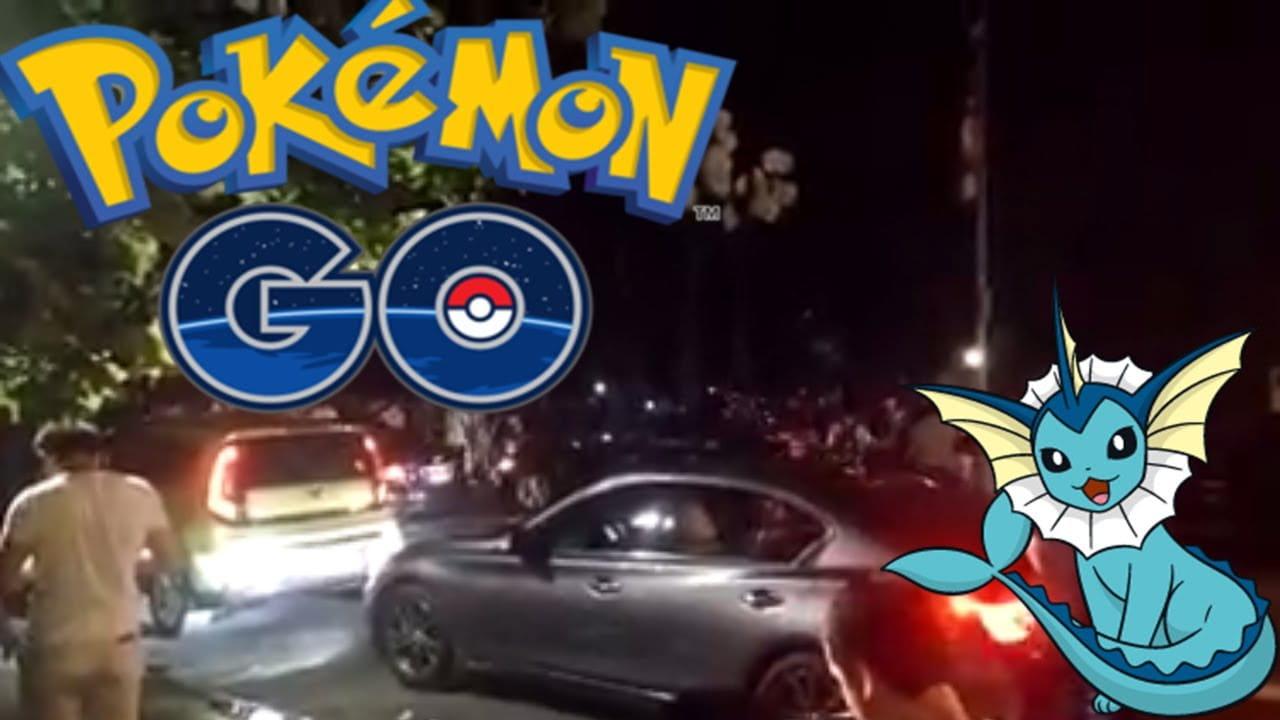 Pokémon Go en Central Park