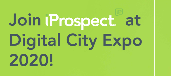 Join iProspect at Manchester's Digital City Expo