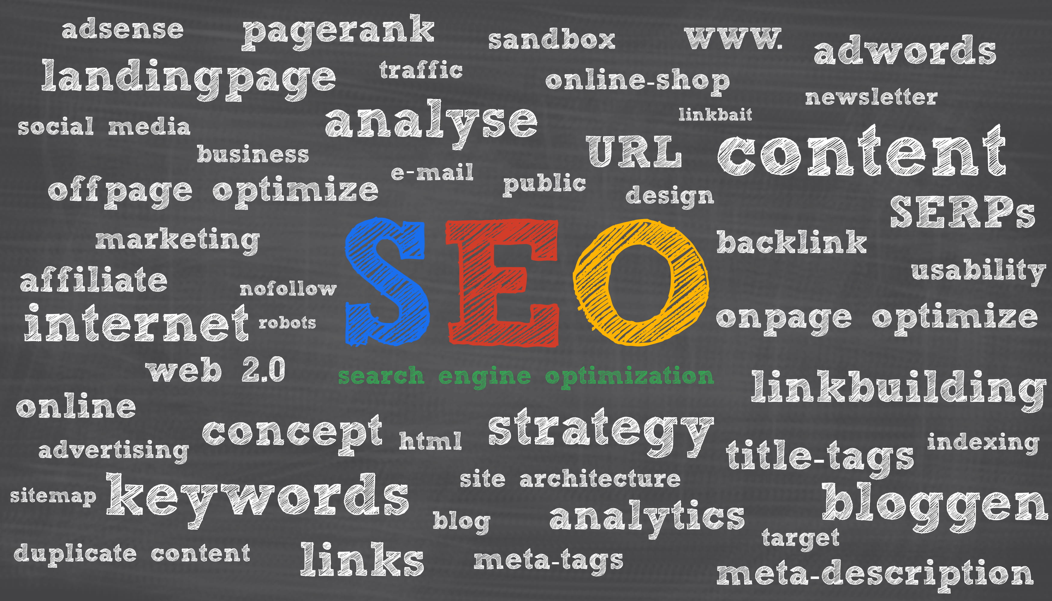 SEO results page