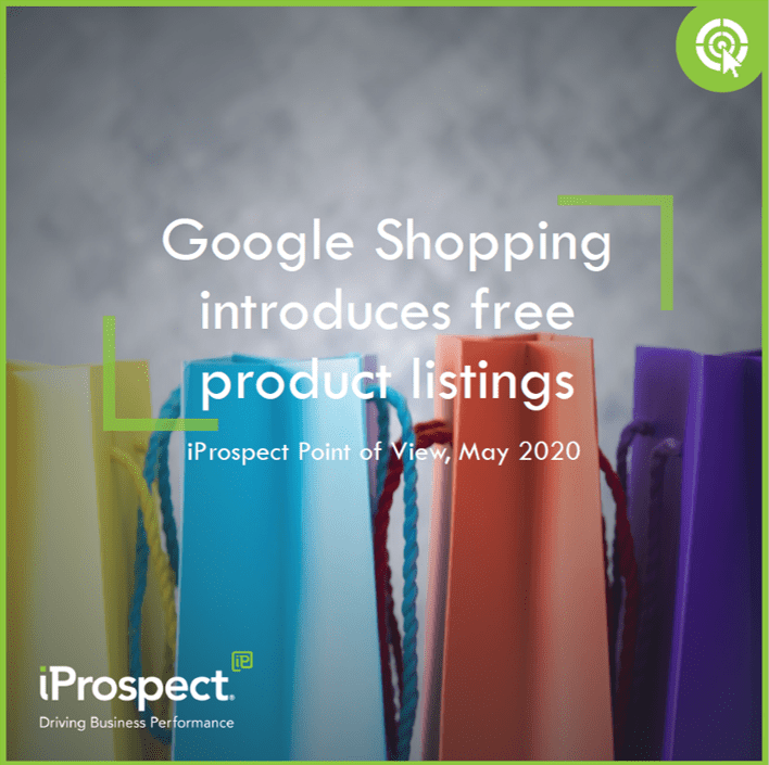 Google Shopping front cover