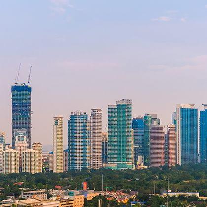 Manila Skyline