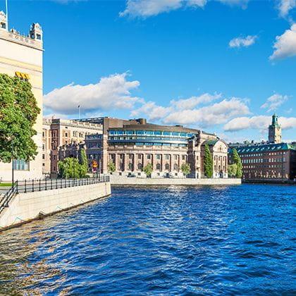 Stockholm Skyline