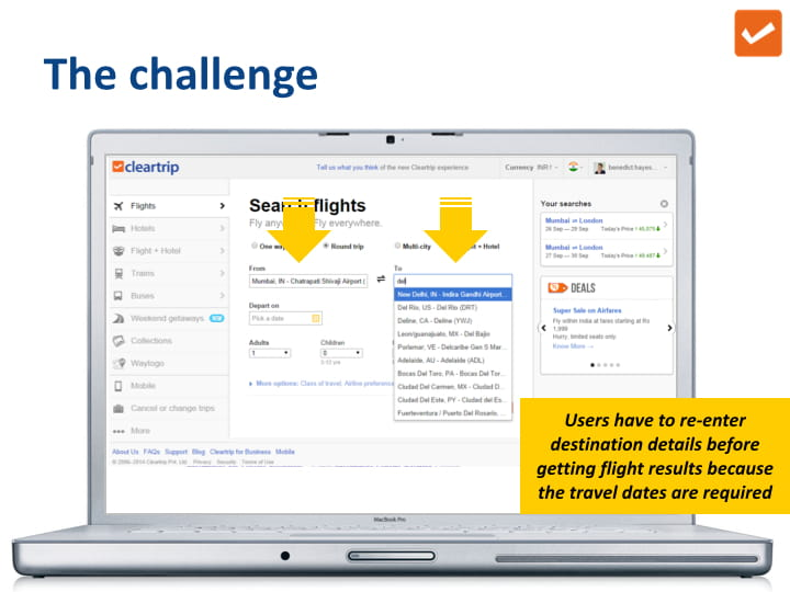 cleartrip case study challenge