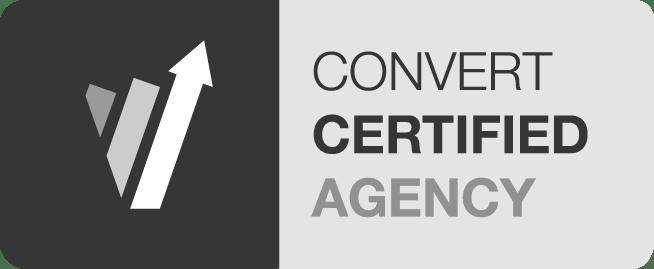 Convert Agency Certified