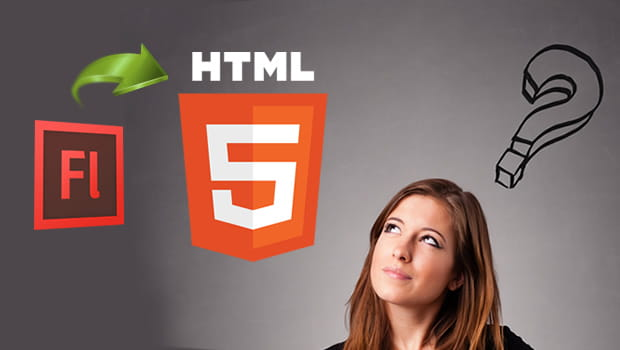 Flash To HTML5 Image
