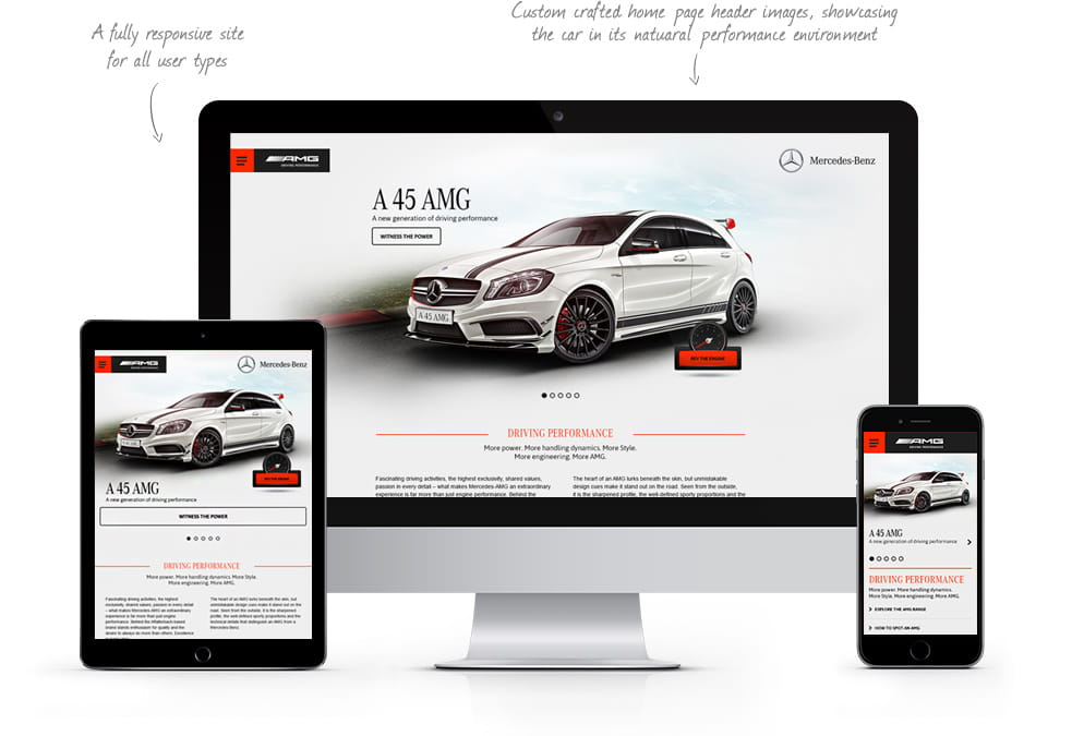 AMG Responsive Site