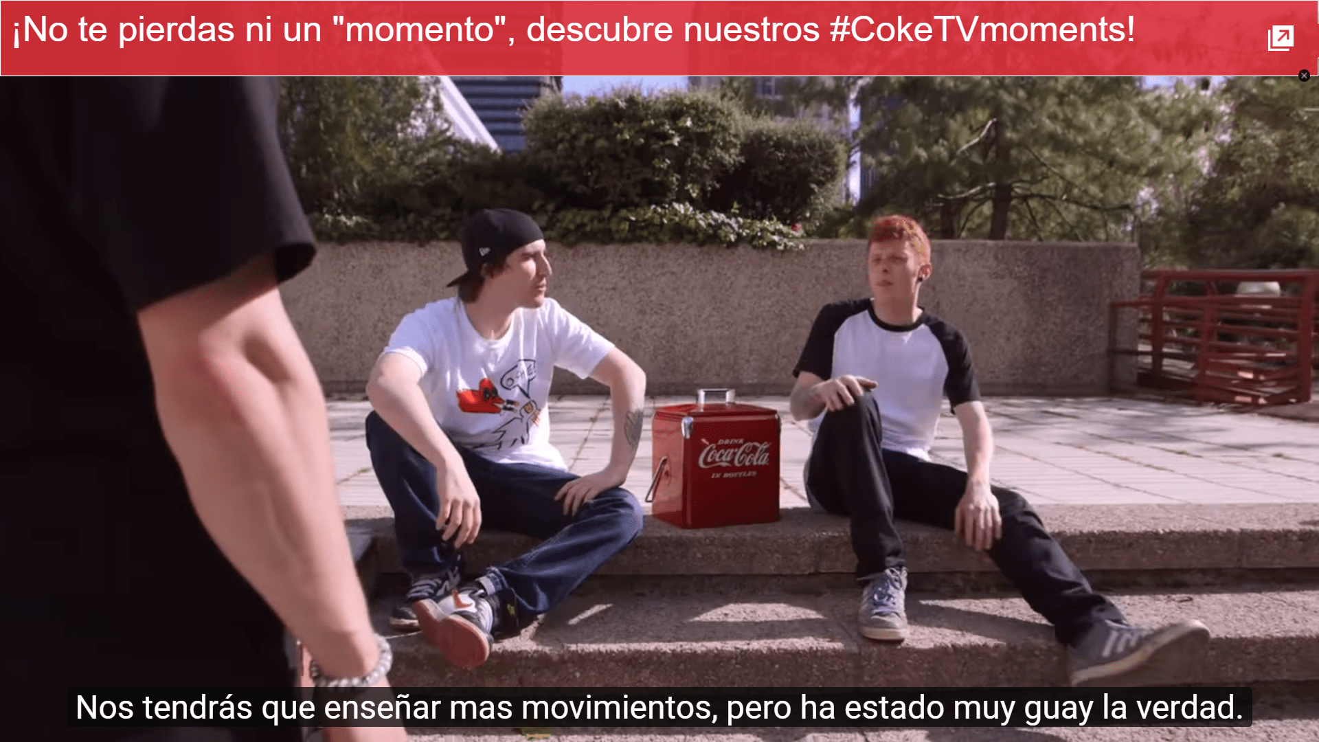 Tarjeta Coke Tv Moments