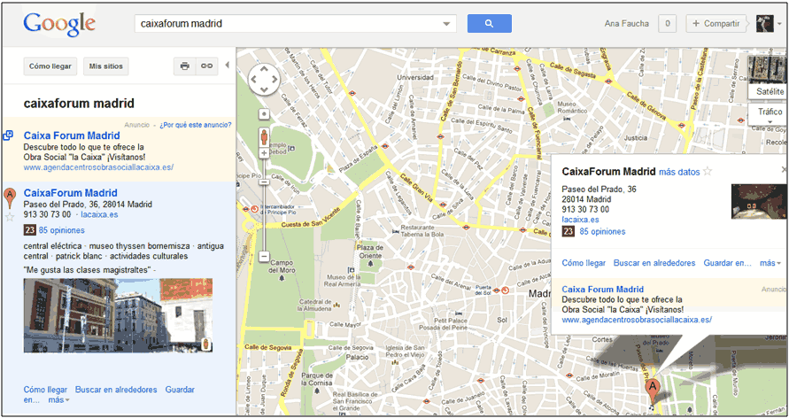 google places deja paso a google plus local resultados actuales places