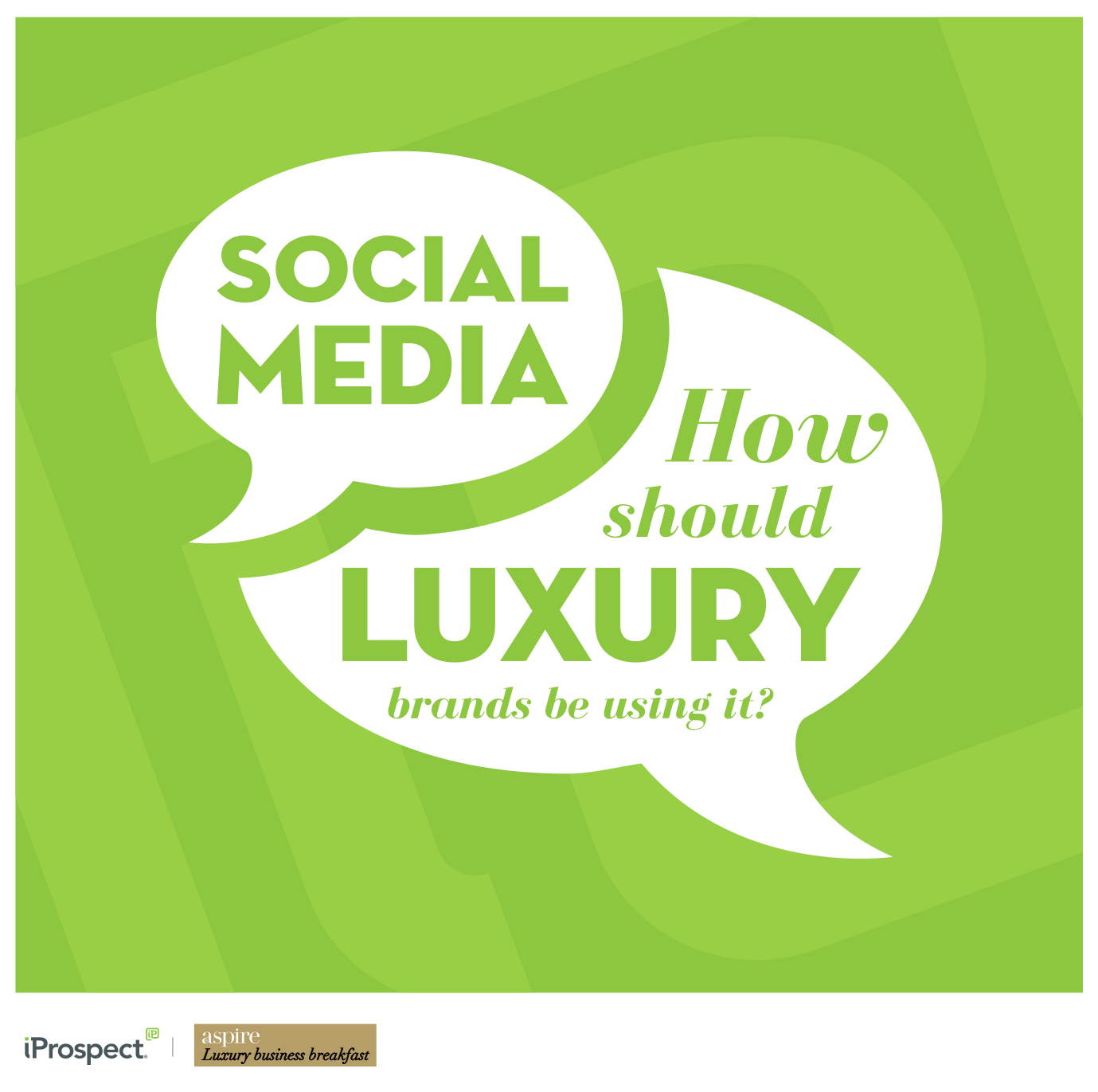 Social media: how should luxury brands be doing it?
