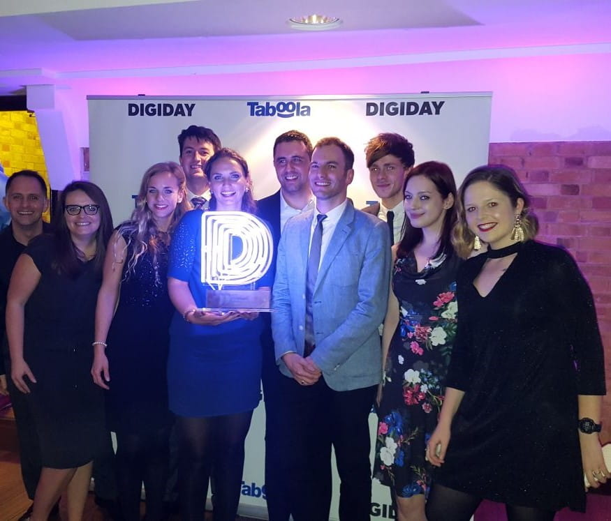 DIGIDAY award photo